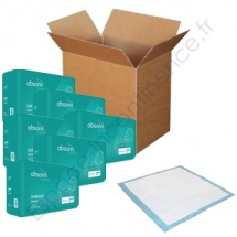 Absorin - Underpad Normal 60 x 60 cm Carton
