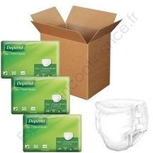 Depend Slip Super Carton