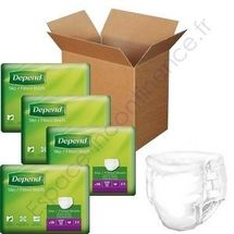 Depend Slip Super Plus Carton