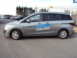 Direction - Mazda 5 7 pl (NEW)